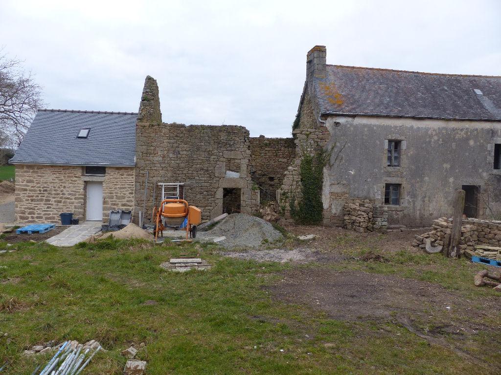 Maison en pierre à rénover en campagne de Riec sur Belon